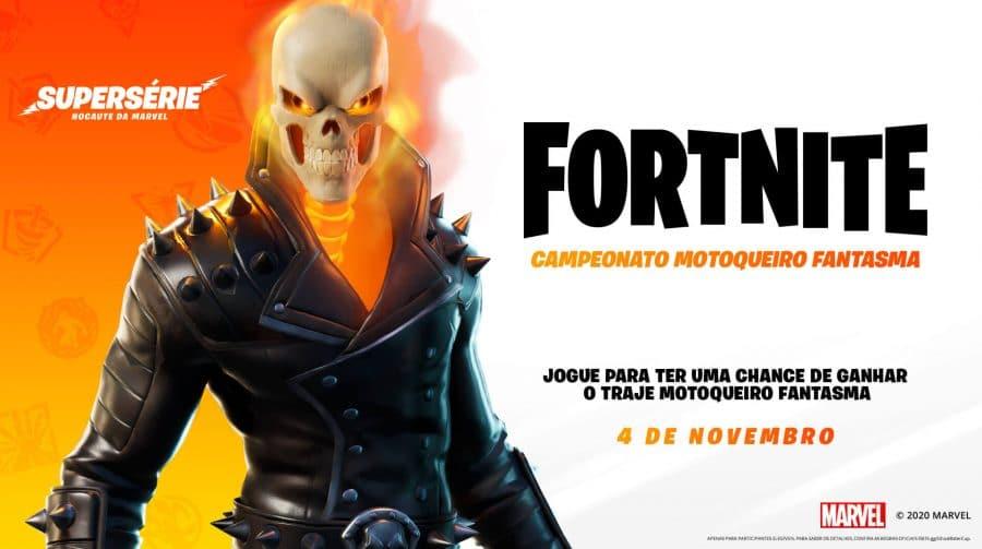 Motoqueiro Fantasma é mais um personagem a chegar ao Fortnite