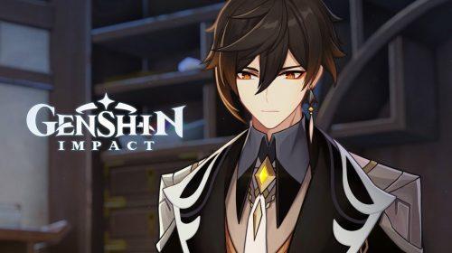 Zhongli, personagem cinco estrelas de Genshin Impact, é buffado