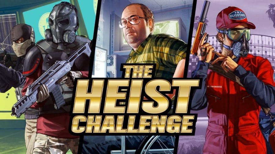 GTA Online desafia jogadores a participarem de um
