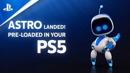 Novo gameplay de Astro's Playroom destaca todo o potencial do DualSense