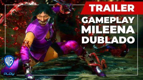 Mortal Kombat 11: trailer de gameplay mostra Mileena em ação