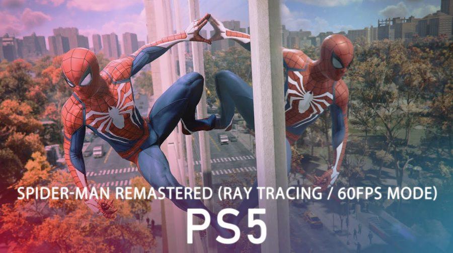 Novo gameplay de Spider-Man Remastered impressiona pela qualidade gráfica