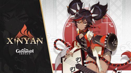 Trailer de Genshin Impact destaca Xinyan, uma nova personagem jogável