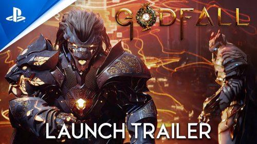 Trailer de lançamento entrega que GodFall é exclusivo temporário do PS5