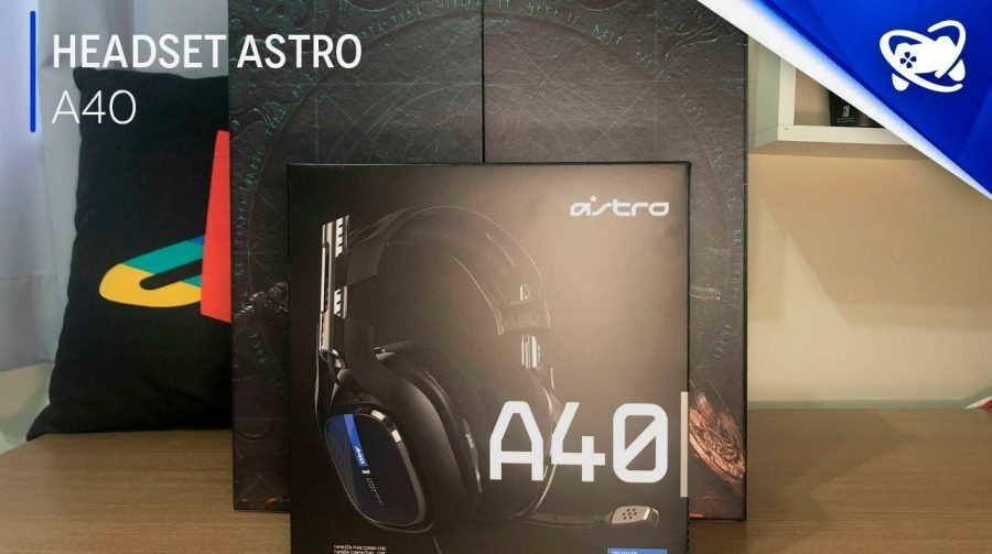 Unboxing - Headset ASTRO A40 - Assassin's Creed Valhall