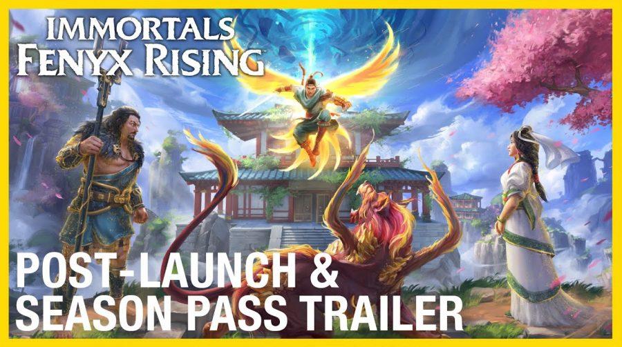 Ubisoft anuncia três DLCs para o pós-lançamento de Immortals: Fenyx Rising