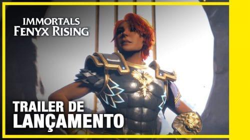 Trailer de lançamento de Immortals: Fenyx Rising destaca a jornada da protagonista