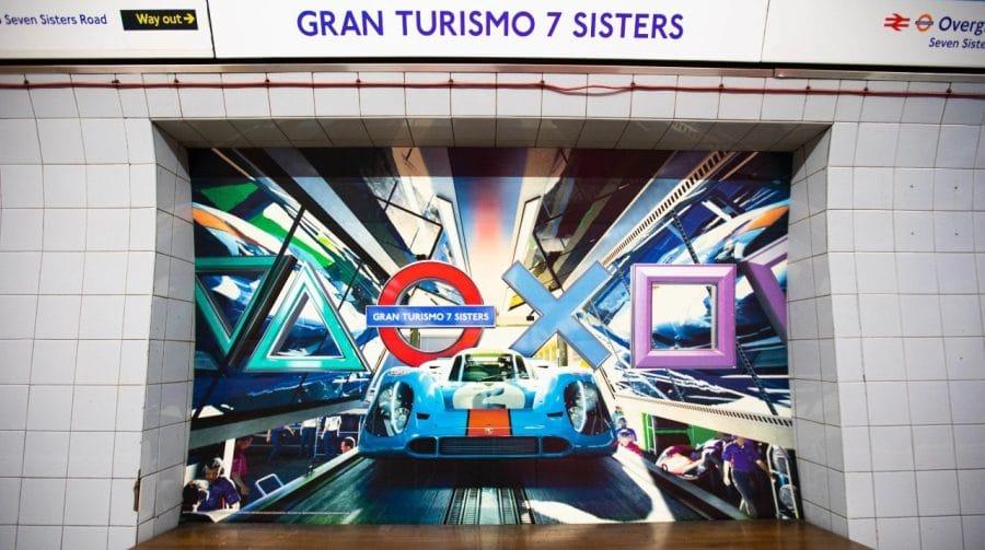 Estações de metrô de Londres são tomadas por propagandas de jogos de PlayStation 5