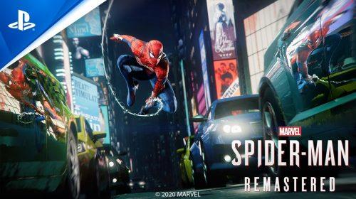 Será possível transferir o save de Spider-Man do PS4 para remaster do PS5
