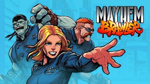 Mayhem Brawler, jogo beat'em up, é anunciado para o PS4