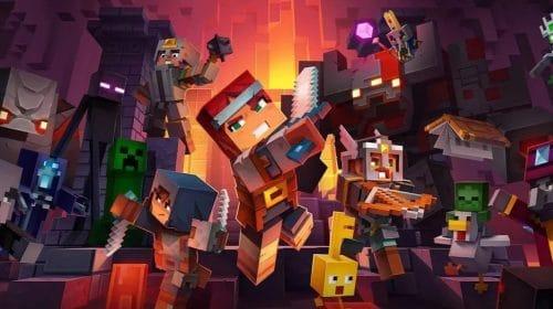 Cross-plataforma de Minecraft Dungeons chegará em 17 de novembro
