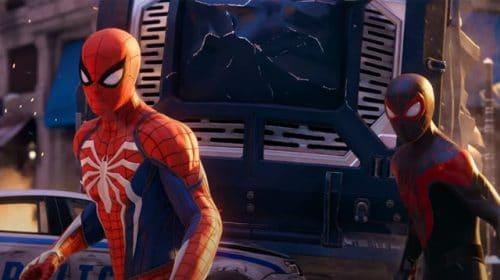 Jogos da série Marvel's Spider-Man são