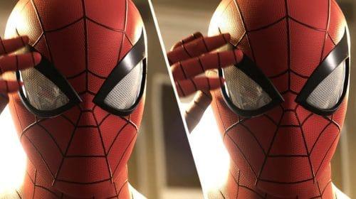 Imagens comparam Marvel's Spider-Man no PS5 e no PS4