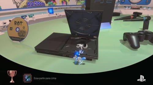 Microfone do PS5 grava a voz do jogador ao ganhar um troféu