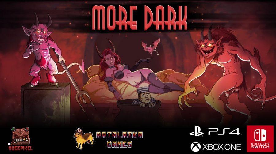 More Dark, jogo de puzzle e plataforma 8-bit, chega ao PS4