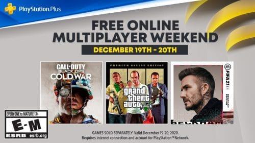Cold War, GTA e FIFA 21 terão fim de semana com multiplayer gratuito no PS4 e PS5