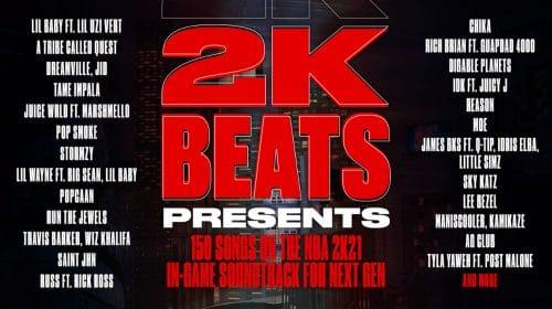 NBA 2K21 no PS5 terá 150 novas músicas com foco no Hip Hop