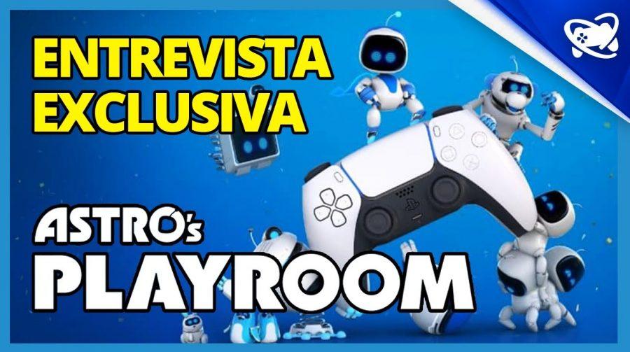 EXCLUSIVO: Astro's Playroom e os recursos do DualSense