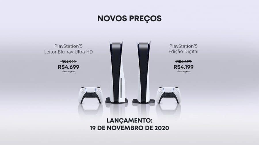 Atenção: Sony anuncia redução no preço do PlayStation 5 no Brasil