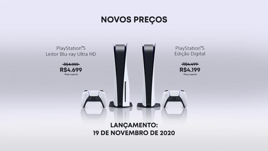 preço do PlayStation 5