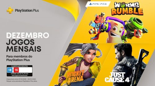 Sony revela PlayStation Plus de Dezembro de 2020