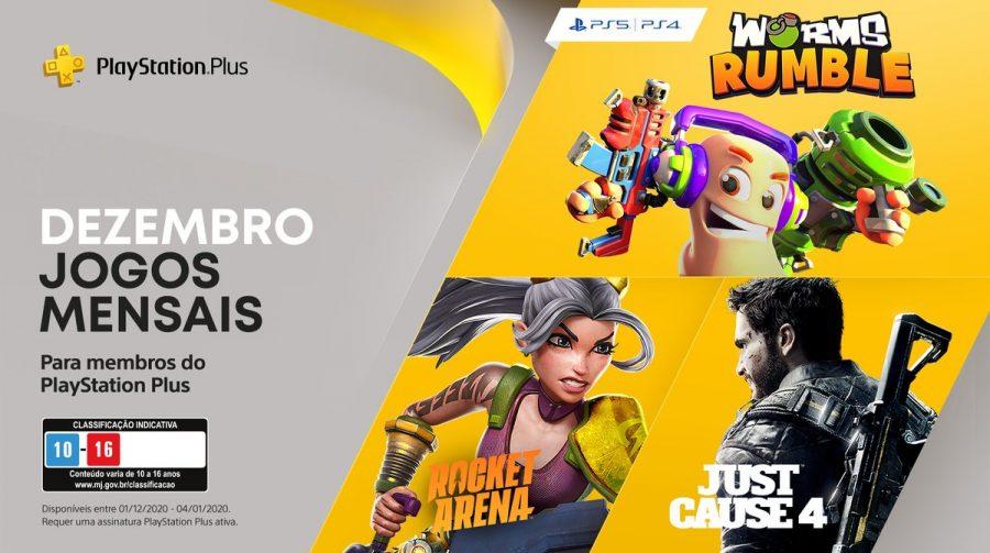 Sony revela PlayStation Plus de Dezembro de 2020