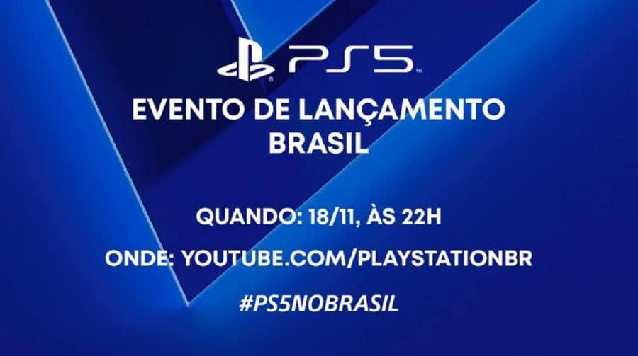 Sony fará evento digital de lançamento do PS5 no Brasil