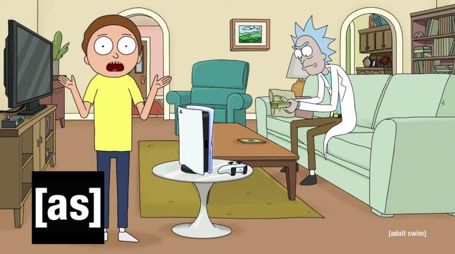 Rick e Morty apresentam o PlayStation 5 em novo comercial de TV