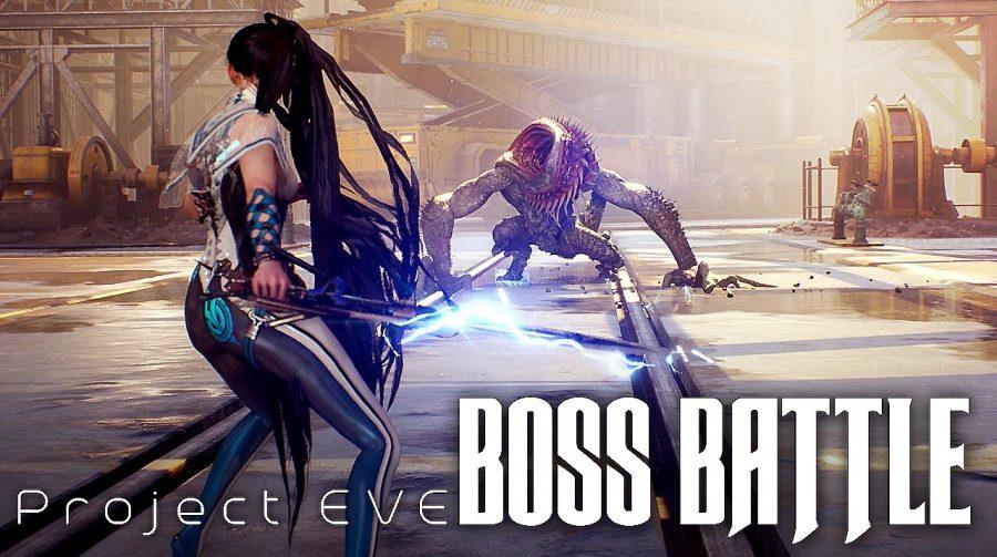 Project Eve, inspirado em NieR Automata, tem gameplay revelado em batalha contra chefe