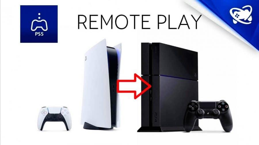 Jogando PS5 no PS4? SIM! Remote Play do PS5 no PS4 funciona muito bem!