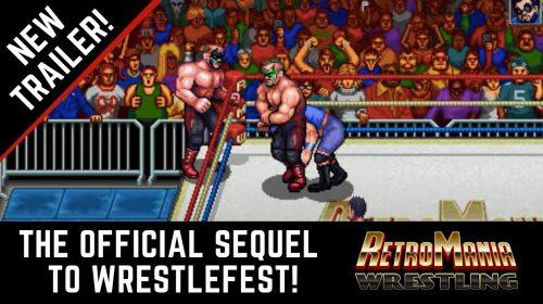 RetroMania Wrestling vai chegar em fevereiro ao PS4