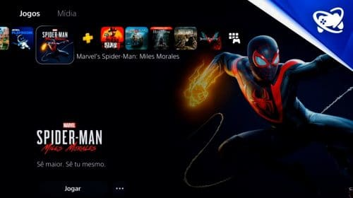 Finalmente! Conhecendo a Interface e os menus do PS5!