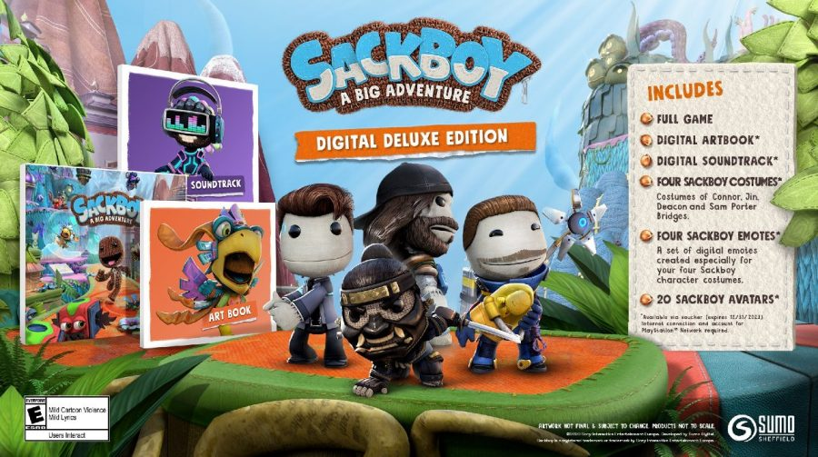 Skins de Sackboy de personagens da PlayStation estão uma fofura