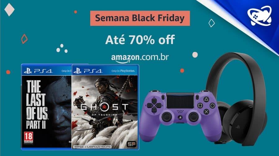 Black Friday antecipada: diversos descontos em jogos e acessórios
