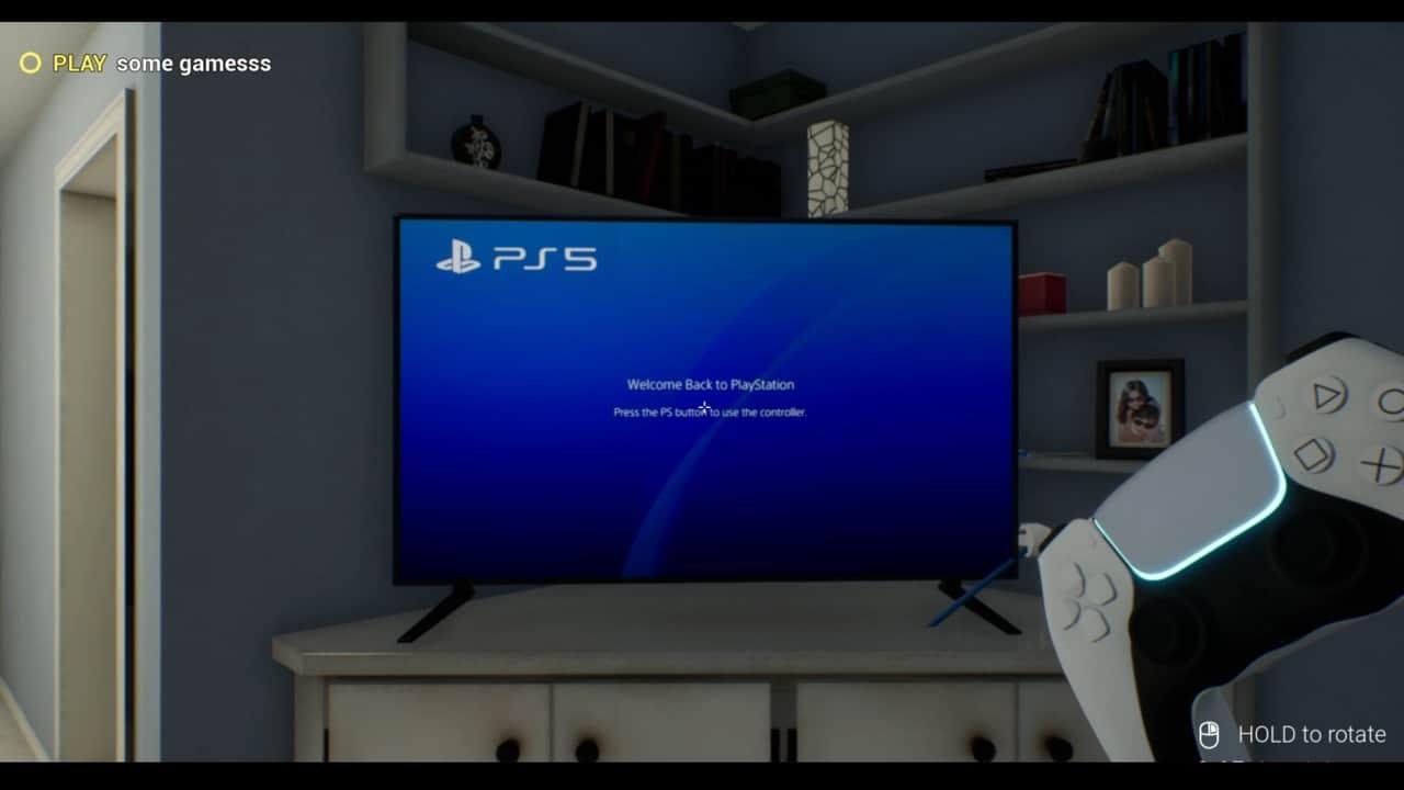 Simulador de PS5