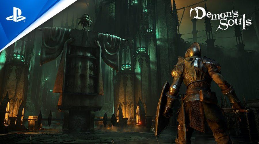 Trailer de lançamento de Demon's Souls mostra os grandes desafios