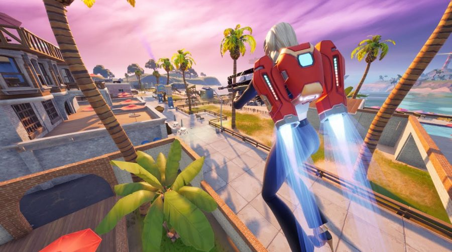 Update de Fortnite adiciona jetpacks à ilha do battle royale