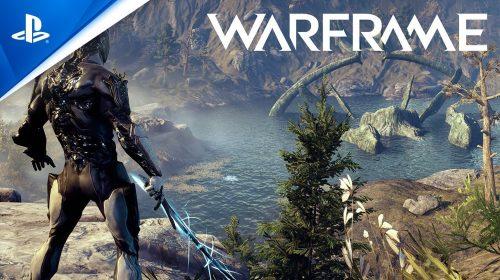 Warframe no PS5: 4K a 60FPS, crossplay, saves do PS4 e progressão de troféus