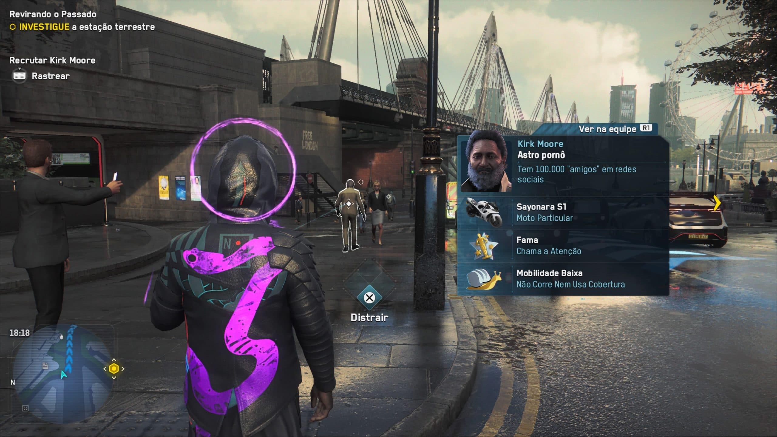 Identificar pessoas ainda é bem divertido, e agora você pode recrutá-las em Watch Dogs Legion