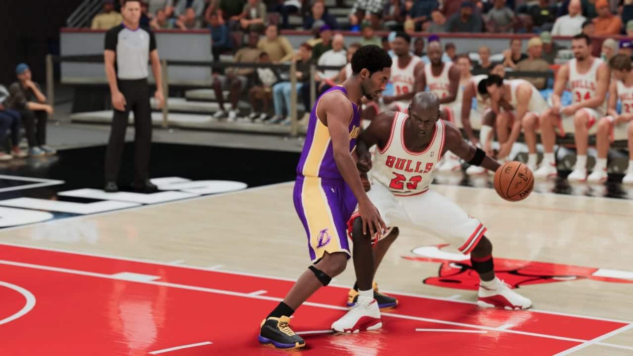 Kobe x MJ: saudades... (Foto: Reprodução/Thiago Barros)