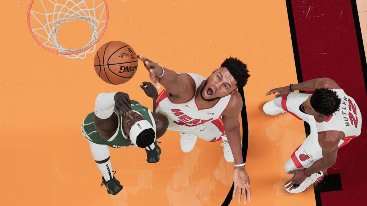 A nova geração chegou em NBA 2K21 no PS5 (Foto: Reprodução/Thiago Barros)