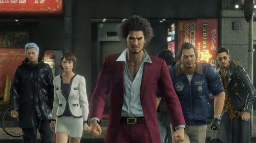 Yakuza: Like a Dragon terá legendas em PT-BR no início de 2021