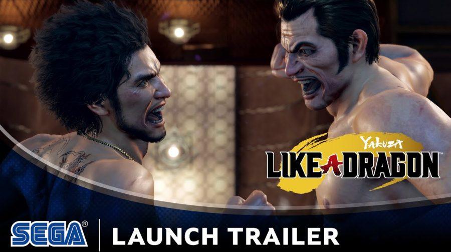 Trailer de lançamento de Yakuza: Like a Dragon destaca a história do protagonista