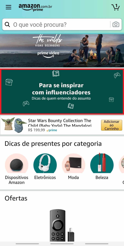 Amazon selecao presentes natal gamer