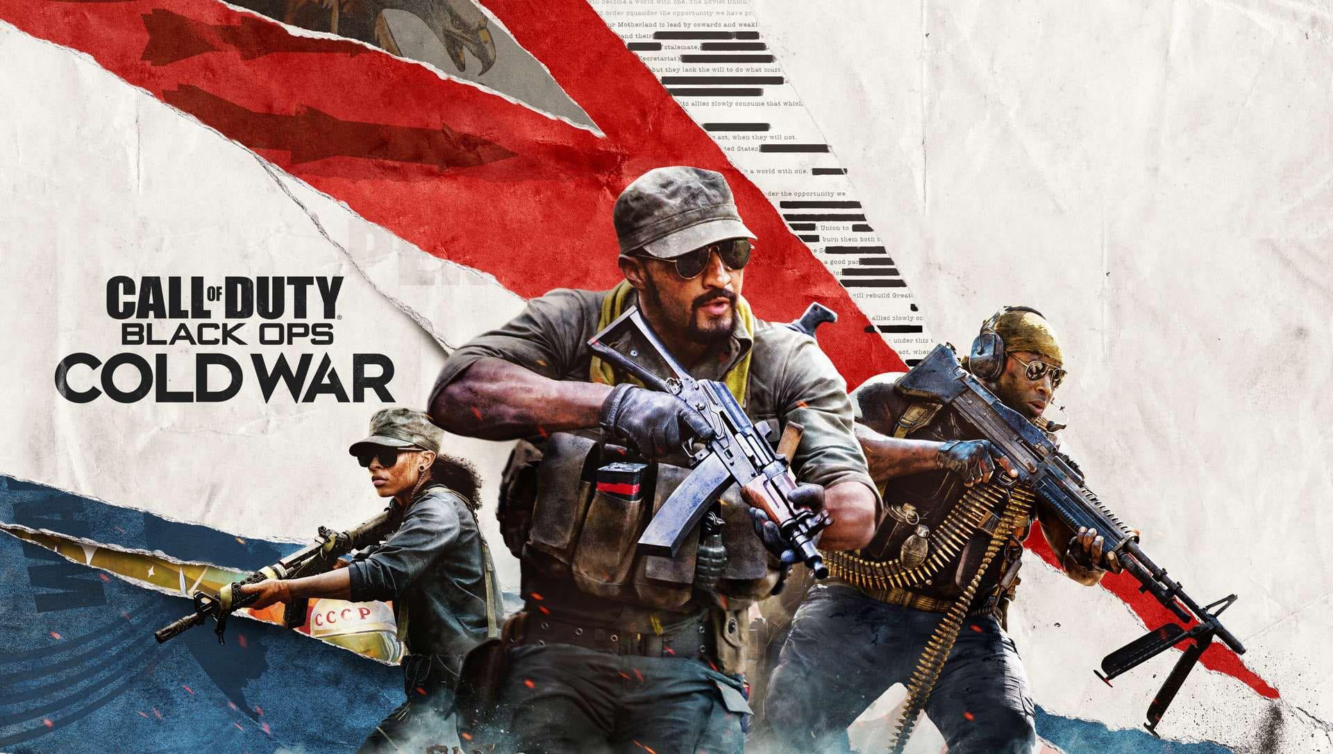 Pacote gratuito de Call of Duty Black Ops Cold War