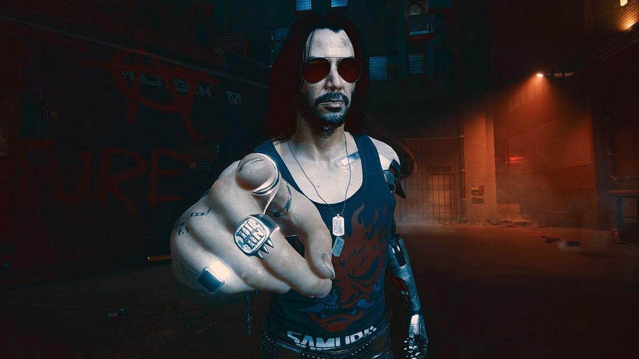 Johnny Silver Hand, personagem de Cyberpunk 2077