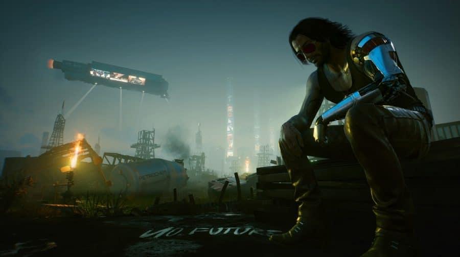 Qual é o tempo para terminar Cyberpunk 2077?