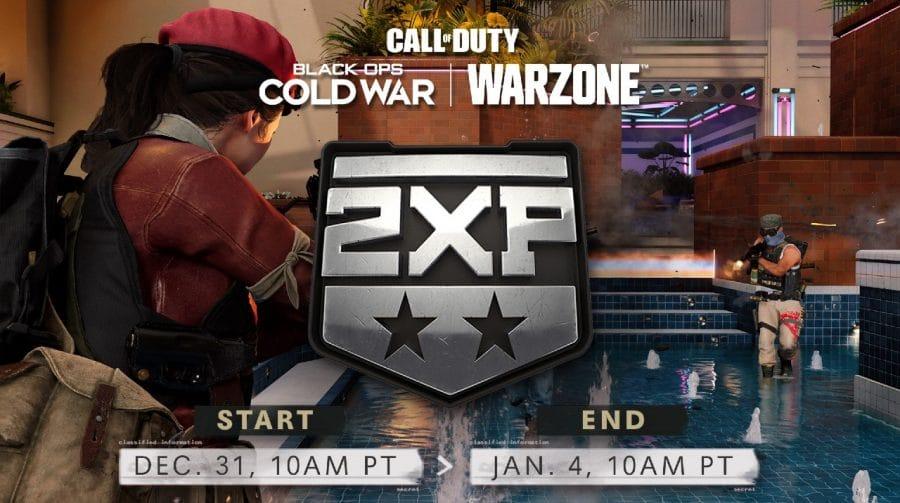Call of Duty Black Ops Cold War e Warzone terão Dobro de XP no Ano Novo