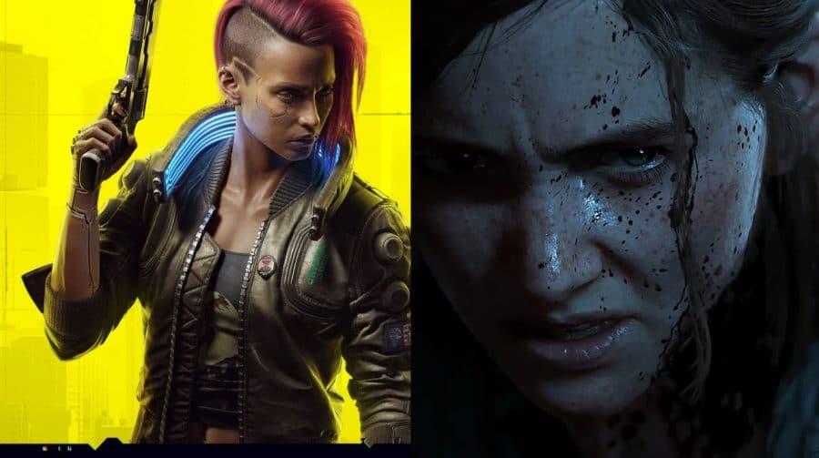 Cyberpunk 2077 e The Last of Us Part II figuram entre os mais vendidos da Amazon