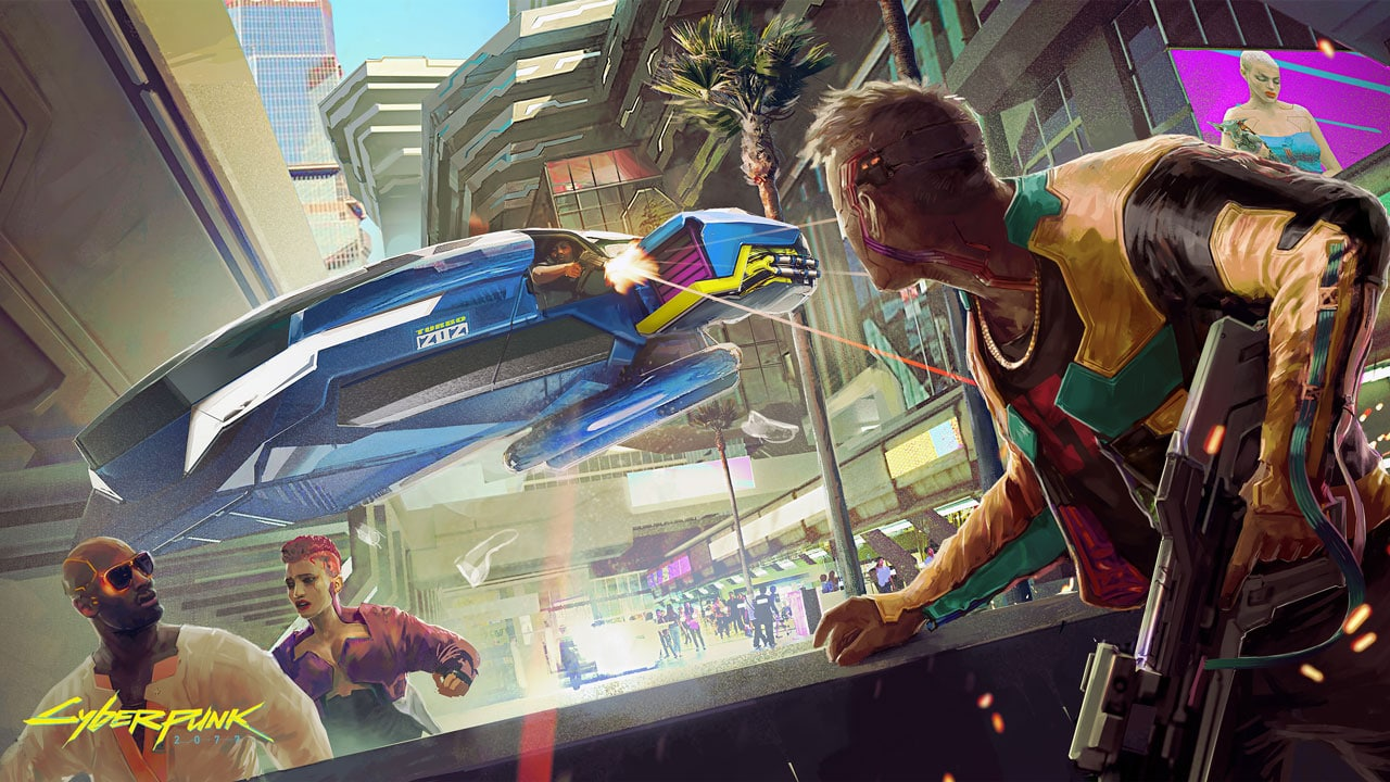 Arte de Cyberpunk 2077